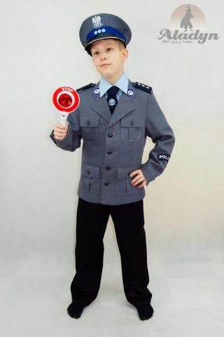 trój Policjanta - mundur